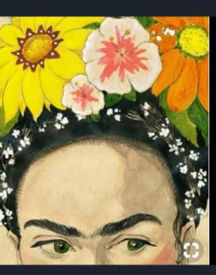 Painting Night - Frida and Flowers by Studio Masterpiece - art in London