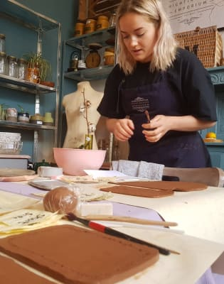 Hanging Planter Workshop by Candy Ward Ceramics  - art in London