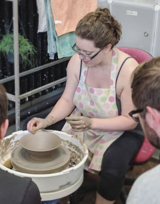 Wheel Workshop by Odile Cadiot - art in London