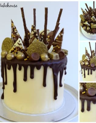 Decorate a Chocolate Ganache Drip Cake by Rock Bakehouse - food in London