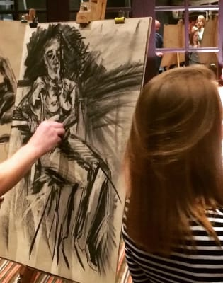 Drink and Draw - Life Drawing Class in Battersea by The Merry Nude - art in London