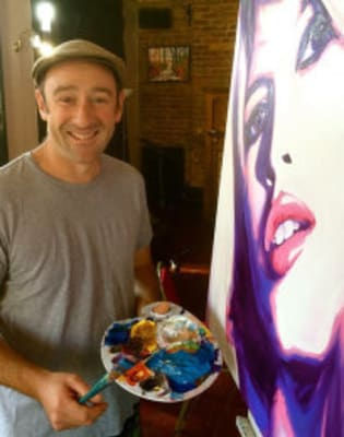 Cheese and Fine Wine Painting Club with Ed Sumner and Stuart George by Vins Extraordinaires - art in London