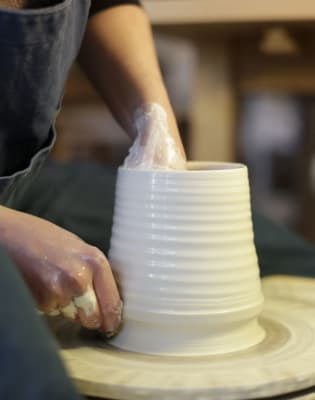Saturday Morning Wheel-Throwing Group Class by Jo Davies Ceramics - art in London