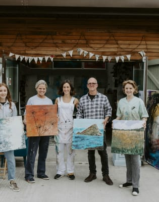 Landscape Painting and Texture Course by Georgie Mason Studio - art in London