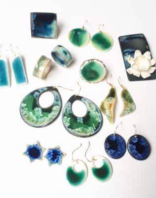 Porcelain Jewellery Making Workshop by Erika Albrecht Ceramics - crafts in London