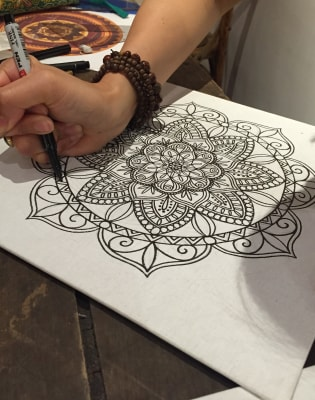Mandala Drawing Class by UbieDesign - art in London