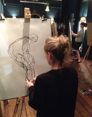 Life Drawing @ Tileyard London by Obby x Tileyard - art in London