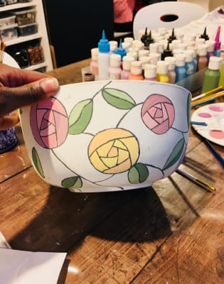 Paint Pottery and Bring Your Own Prosecco! by M.Y.O (Make Your Own) - crafts in London
