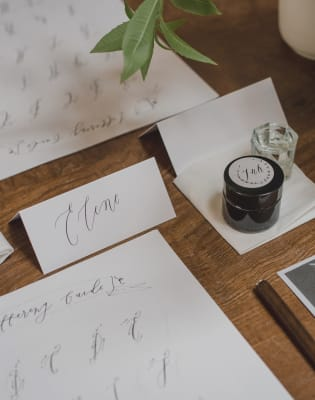 Modern Calligraphy Private Workshop by Alice Gabb - art in London