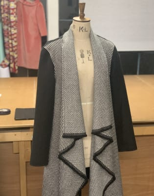 Beginners Sewing: Make a Waterfall Coat in 4 hrs! by The Fashion Box - crafts in London