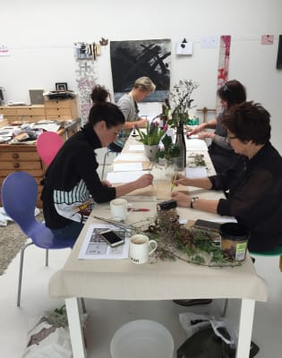 Lino Print Workshop by no5workshops - art in London