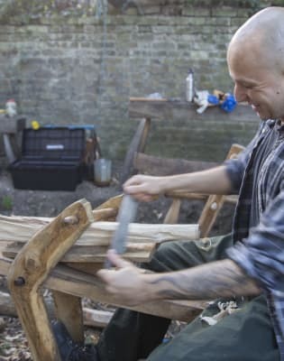 Introduction to Green Woodwork Workshop by London Green Wood - crafts in London