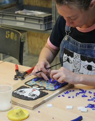 Introduction to Mosaic: Indirect Method by London School of Mosaic - art in London