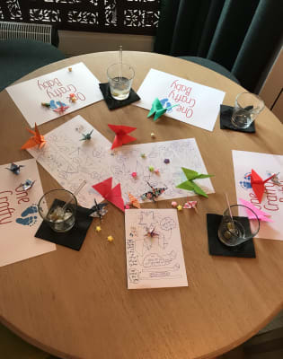 Ornate Origami Workshop by One Crafty Baby - crafts in London