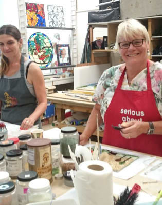 2 Day Creative Glass Fusing Weekend for Beginners & Improvers  by Jude Stark Studio at The London Stained Glass Co. - crafts in London