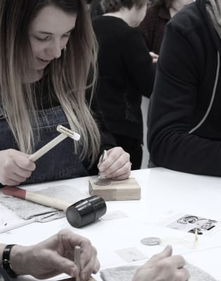 Jewellery Stamping with J&J Workshops at Obby Popup at Make More Festival by J&J Workshops - crafts in London