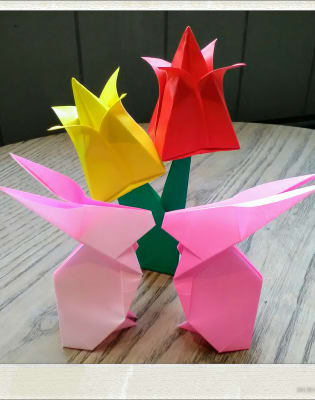 Happy Origami Easter by Happy Origami Wonderland - crafts in London