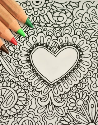 Relieve Your Stress with Mindfulness Drawing by Explore Art - mindfulness-and-wellbeing in London