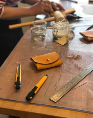 Leatherworking with a Master Craftsman by YUSSICO - crafts in London