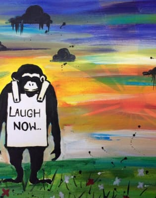 Paint like Banksy! Shoreditch by PopUp Painting - art in London