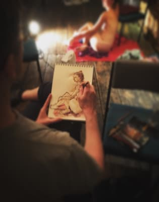 Life Drawing Evening Class - Clerkenwell by London Drawing - art in London