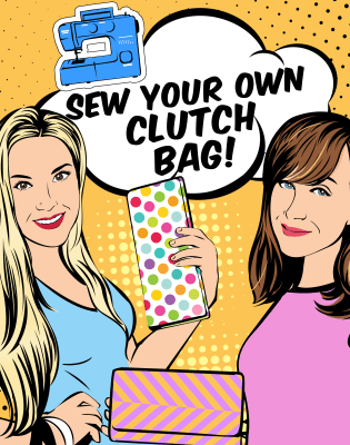 Sew Your Own Clutch Bag by School of Sewalicious - crafts in London