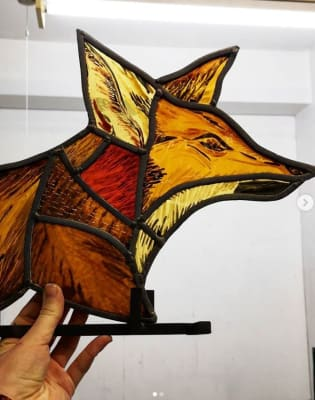 Stained Glass: One-to-one intensive workshops for all abilities by Aimee McCulloch Stained Glass - art in London