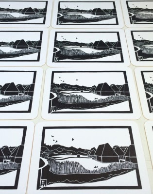 Linocut Printing One-Day Course by Thames-Side Print Studio - art in London