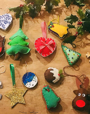 Make Your Own Christmas Decorations! by M.Y.O (Make Your Own) - crafts in London