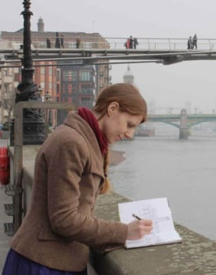 Thames Drawing Workshop by Kethi Copeland - art in London