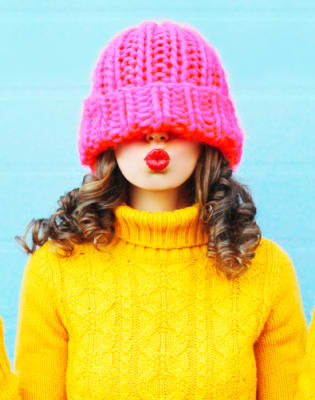 Knit a Hat with a Pom Pom by Tea & Crafting - crafts in London