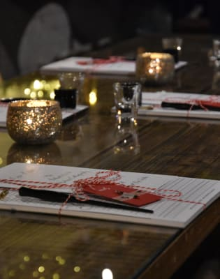 Calligraphy and Cocktails by Creating Eleanor - art in London