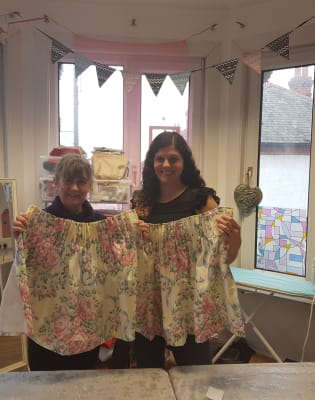 Lined Curtain Workshop by Craft My Day - crafts in London