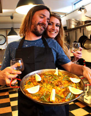 Private Paella Cooking Classes for Two At Your Place by London Paella School - food in London