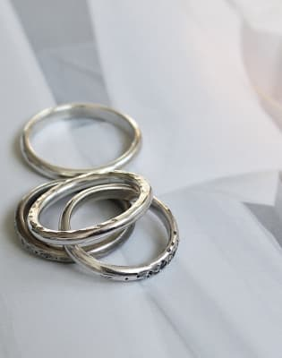 Silver Stackable Ring Workshop by J&J Workshops - crafts in London
