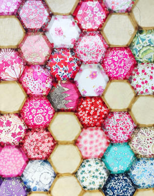 Patchwork/English Paper Piecing for Beginners by Creative Happy London - crafts in London
