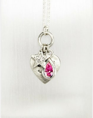 Silver Gem Set Pendant Workshop by Rebecca Mundy Jewellery - crafts in London