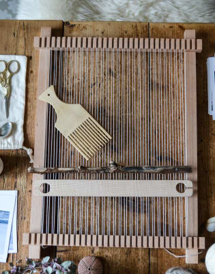 Introduction to Weaving on a Frame Loom by Mary Maddocks - crafts in London