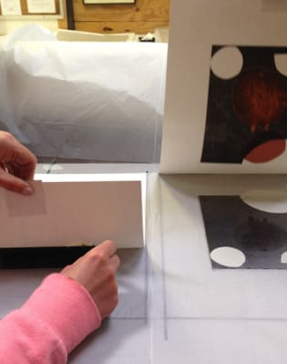 Trace Monotype Printmaking by Slaughterhaus Print Studio - art in London