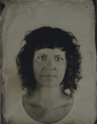 Unique Portrait On Glass Plate - Wet Plate Collodion Technique by Marcin Seweryn Andrzejewski Wet Plate Collodion Photography - photography in London