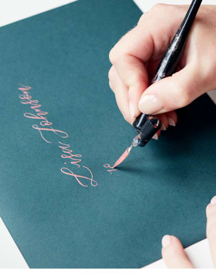 West Elm - Beginners Modern Calligraphy by À L'aise - art in London