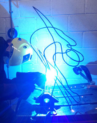 Drawing with Steel Course by London Sculpture Workshop - art in London