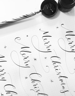 Beginner's Modern Calligraphy Workshop by Ink and Flow - art in London