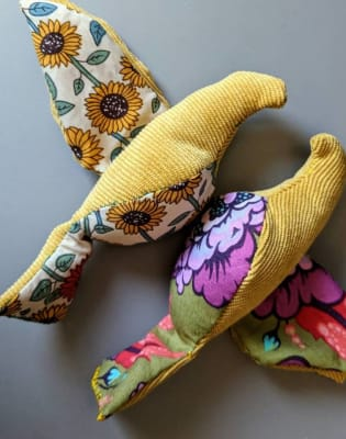 Make a Pair of Love Birds by Box and Roll - crafts in London