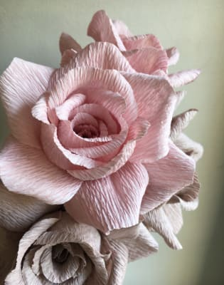 Paper Rose Workshop by Pom Pom Factory - crafts in London