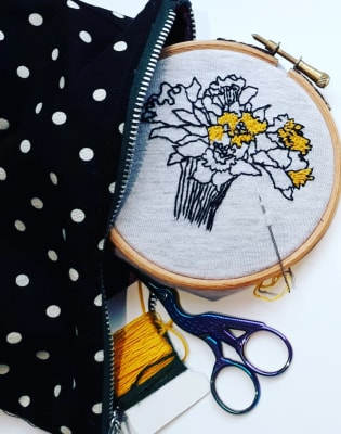 Embroidery for Beginners - Make Your Own Wall Hanging by M.Y.O (Make Your Own) - crafts in London