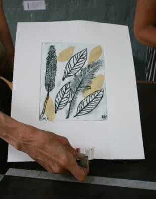 Collagraph & Drypoint Printmaking by Slaughterhaus Print Studio - art in London