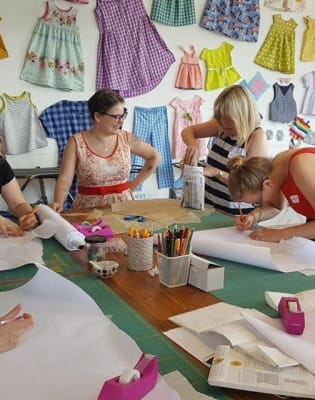 Trouser Fitting Masterclass with Charlotte Newland, winner of The Great British Sewing Bee by The Village Haberdashery - crafts in London