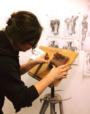 Sculpt Michelangelo's David! Beginners Workshop by The Figurative Sculpture School - art in London
