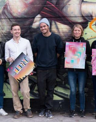Graffiti & Street Art Painting Workshop by Zincstyles Artworks - art in London